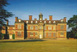 Sudbury Hall - the north front